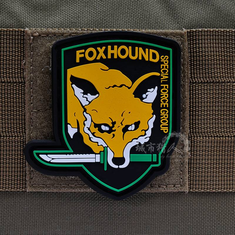 Custom Fox Hound Special Forces PVC Patch