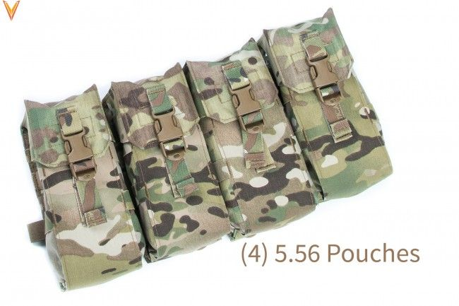 Mayflower 5.56 Jungle Kit BP (#2), Medium Belt, Multicam