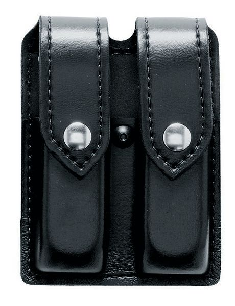 Safariland Safariland Model 77 Double Magazine Pouch - Hardshell STX w/ Hidden Snap, Belt Loop 2.25