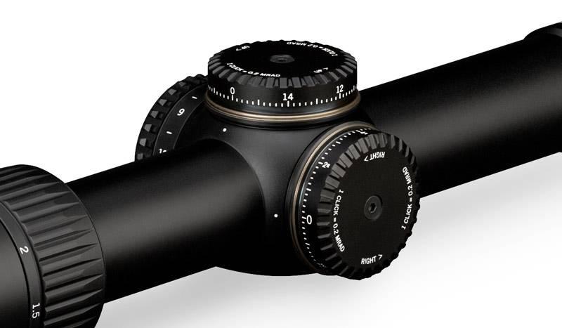 Vortex Viper PST Gen II 1–6x24 SFP VMR-2 mrad, 30mm tube