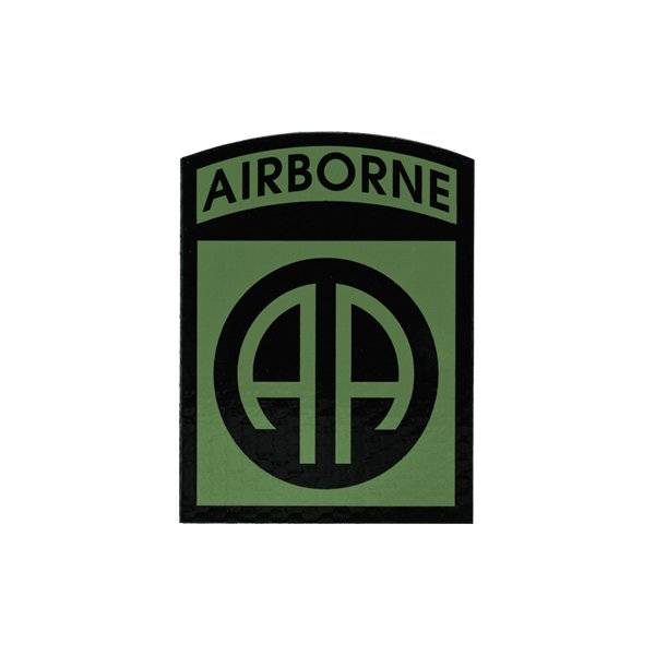 Cejay Engineering 82nd Airborne Division IR Patch, OD Green