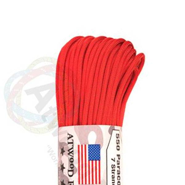 Atwood Rope MFG Atwood Rope MFG 550 Paracord 100ft - Red
