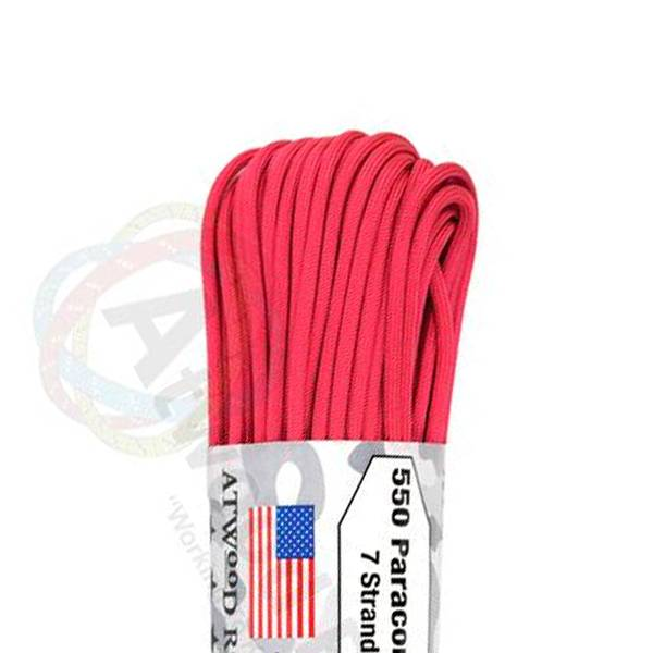 Atwood Rope MFG Atwood Rope MFG 550 Paracord 100ft - Hot Pink