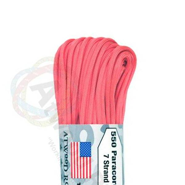 Atwood Rope MFG Atwood Rope MFG 550 Paracord 100ft - Pink