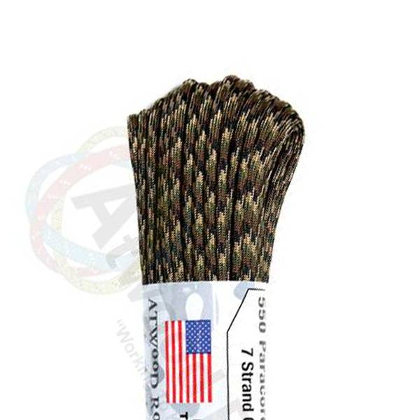 Atwood Rope MFG Atwood Rope MFG 550 Paracord 100ft - Ground War