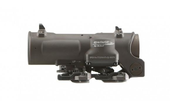 Elcan Elcan SpecterDR Dual Role 1x/4x Optical Sight 7.62 (CX5396 ballistic reticle) w/ Intergral A.R.M.S. Picatinny Mount, FDE