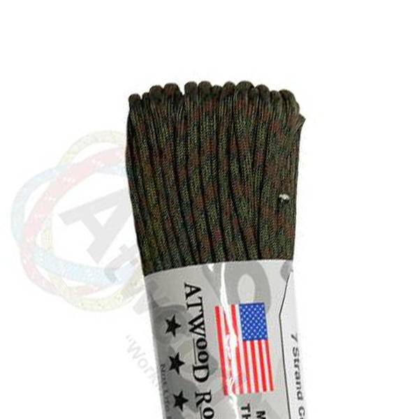Atwood Rope MFG Atwood Rope MFG 550 Paracord 100ft - Wet Land