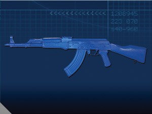 Blue Guns Blue Guns AK47
