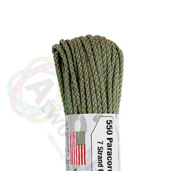 Atwood Rope MFG Atwood Rope MFG 550 Paracord 100ft - Digital ACU