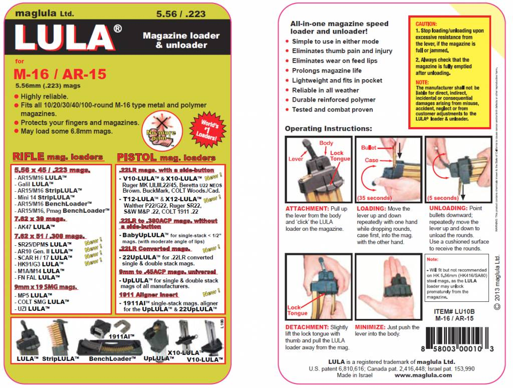 Maglula Maglula LULA M-16 / AR-15
