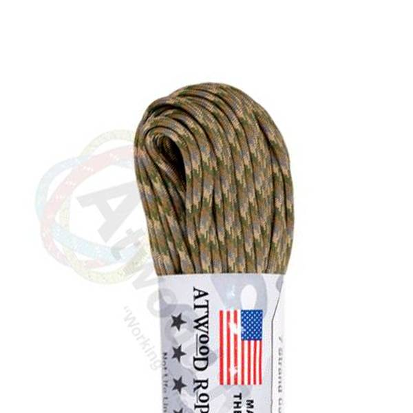 Atwood Rope MFG Atwood Rope MFG 550 Paracord 100ft - Multicam
