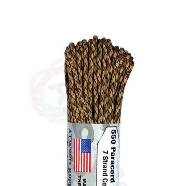 Atwood Rope MFG Atwood Rope MFG 550 Paracord 100ft - Rattler