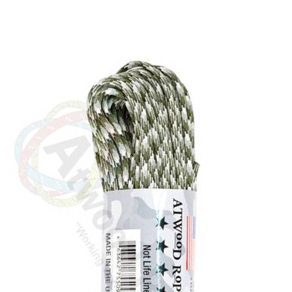 Atwood Rope MFG Atwood Rope MFG 550 Paracord 100ft - Siberian Camo