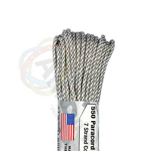 Atwood Rope MFG Atwood Rope MFG 550 Paracord 100ft - Arctic Camo
