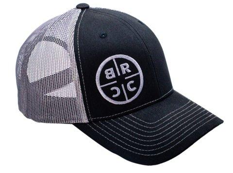 Black Rifle Coffee Company Black Rifle Coffee Company BRCC Trucker Hat - Black w/ Grey mesh - Black/Grey