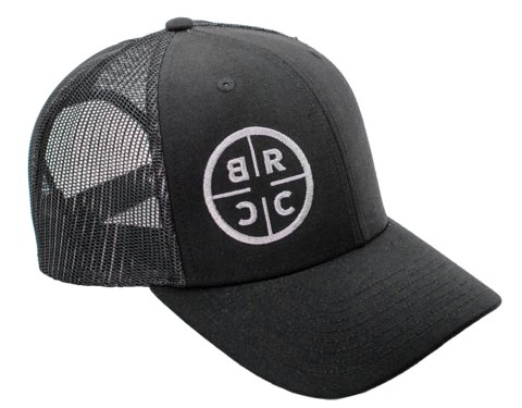 Black Rifle Coffee Company Black Rifle Coffee Company BRCC Trucker Hat - Black with Black mesh - Black on Black