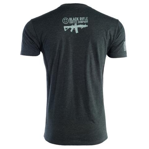 Black Rifle Coffee Company Black Rifle Coffee Company BRCC Company T-Shirt Gray Logo: vintage