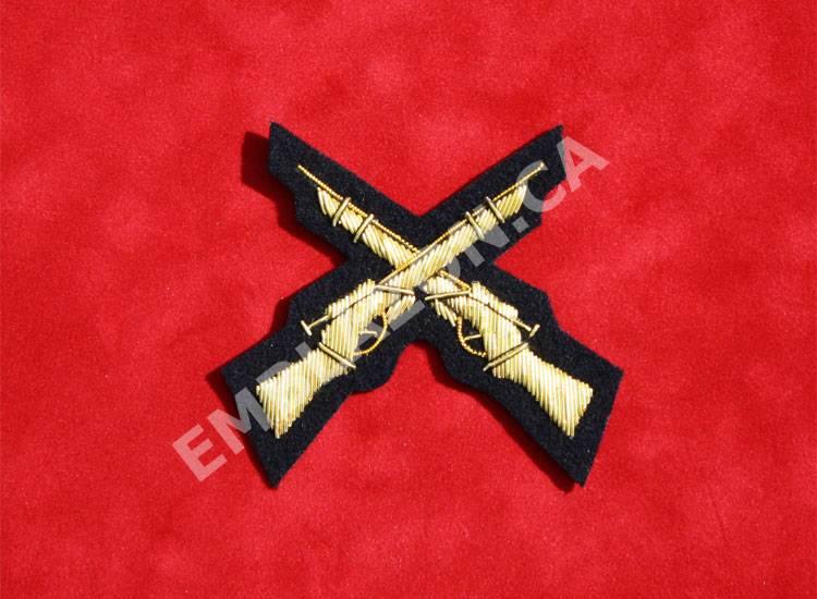 Emblazon Crossed Rifles