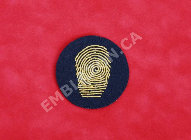 Emblazon Forensic Identification Appointment Badge