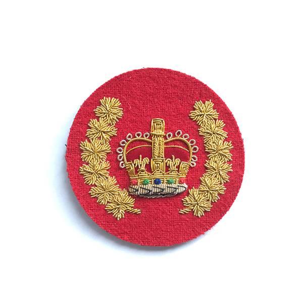 Emblazon Staff Sergeant Major Rank