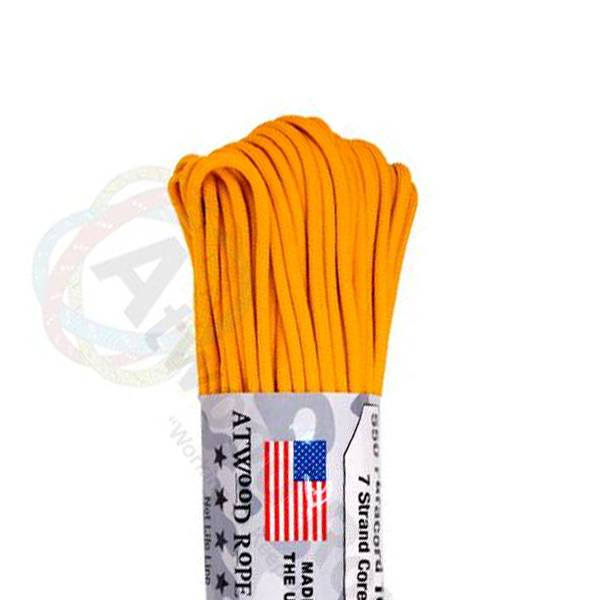 Atwood Rope MFG Atwood Rope MFG 550 Paracord 100ft - Airforce Gold