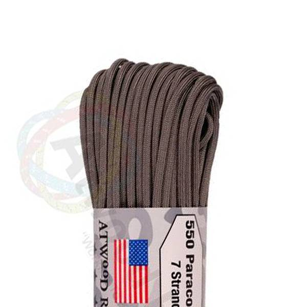 Atwood Rope MFG Atwood Rope MFG 550 Paracord 100ft - Graphite