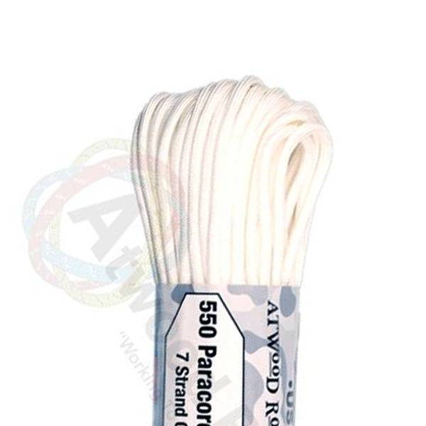 Atwood Rope MFG Atwood Rope MFG 550 Paracord 100ft - White