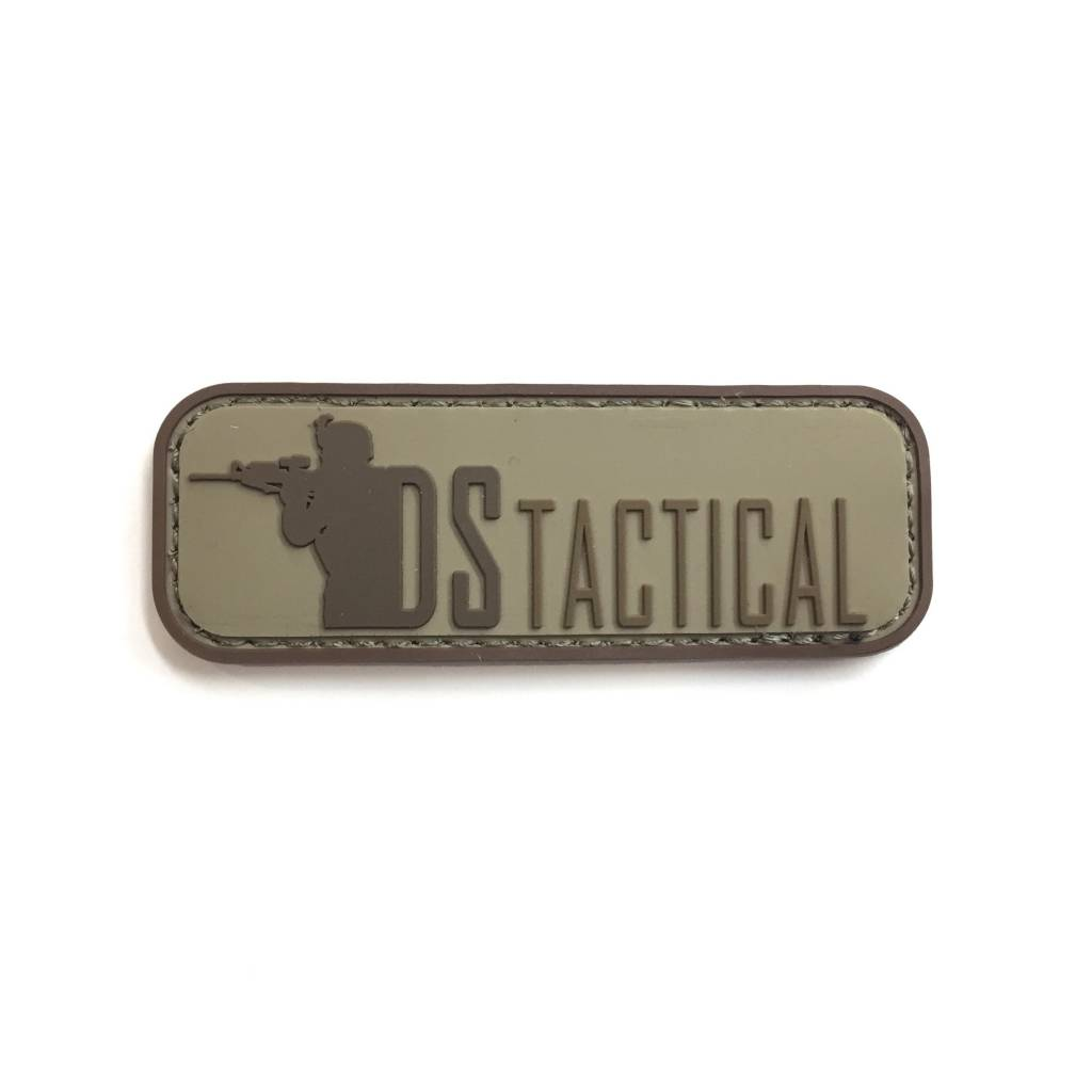 Custom DS Tactical PVC Patch - Arid