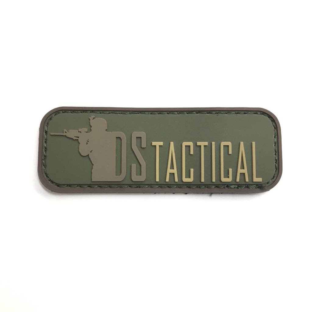 Custom DS Tactical PVC Patch - Forest