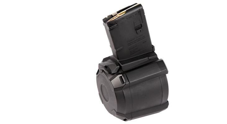 Magpul Magpul PMAG D-60 AR/M4 5.56x45mm (Blocked to 5) - Black
