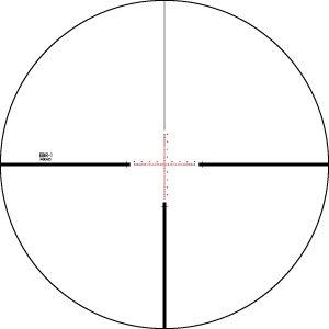 Vortex  Vortex Viper PST 4-16x50 FFP Riflescope with EBR-1 Reticle (MRAD) Gen 1