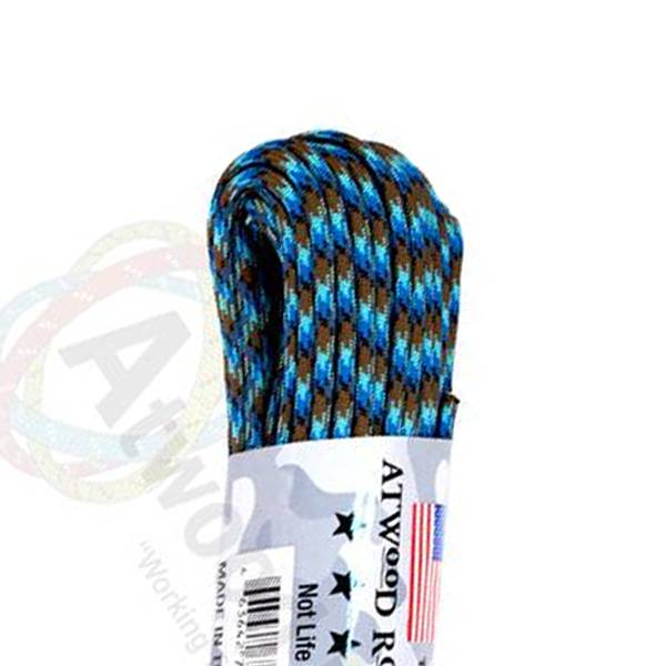 Atwood Rope MFG Atwood Rope MFG 550 Paracord 100ft - Abyss