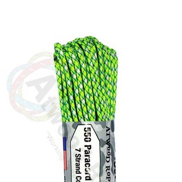Atwood Rope MFG Atwood Rope MFG 550 Paracord 100ft - Island