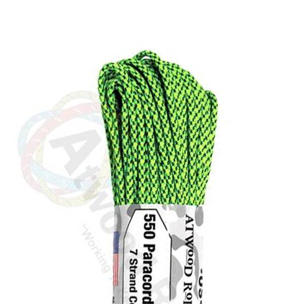 Atwood Rope MFG Atwood Rope MFG 550 Paracord 100ft - Green Spec Camo