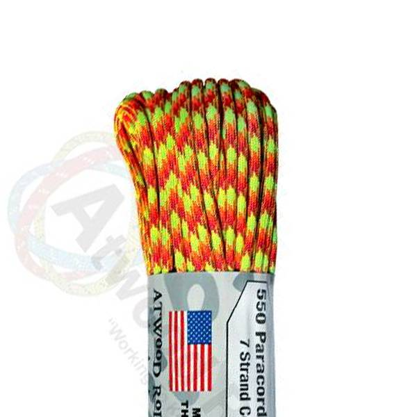 Atwood Rope MFG Atwood Rope MFG 550 Paracord 100ft - Starburst