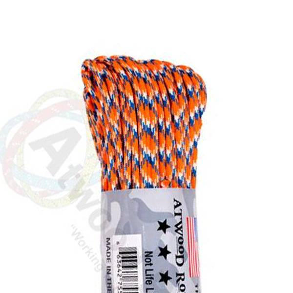 Atwood Rope MFG Atwood Rope MFG 550 Paracord 100ft - Bronco