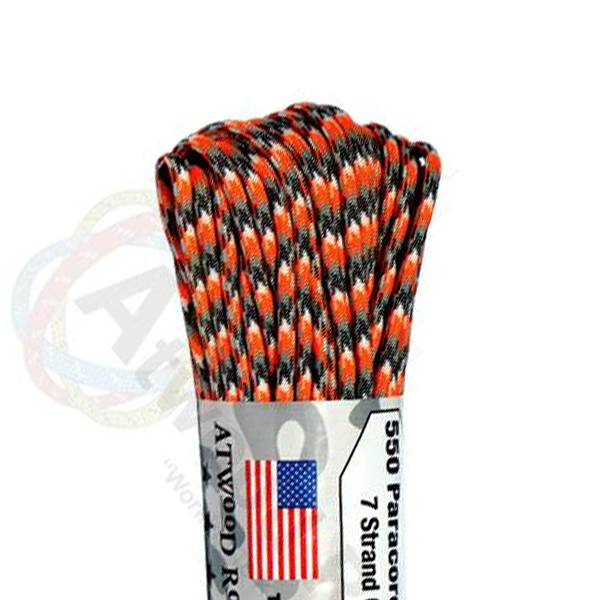 Atwood Rope MFG Atwood Rope MFG 550 Paracord 100ft - Ion Storm