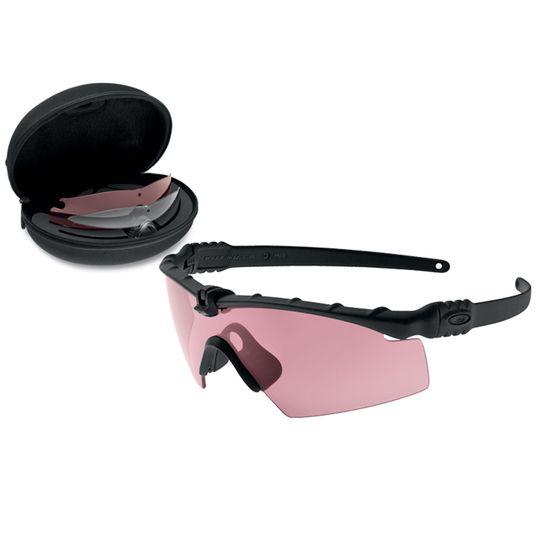 Oakley Oakley SI Ballistic M-Frame 3.0 Matte Black Prizm Shooting Array TR22, TR45, & Clear