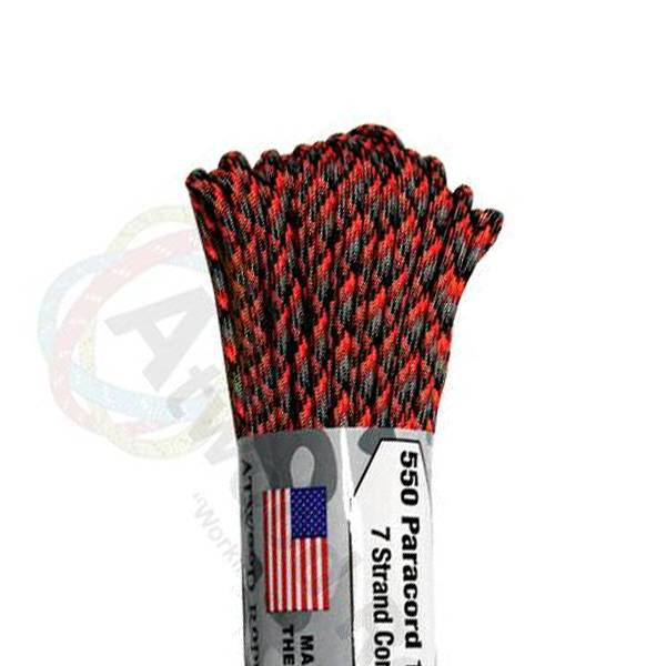 Atwood Rope MFG Atwood Rope MFG 550 Paracord 100ft - Lava