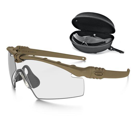 Oakley Oakley SI Ballistic M-Frame 3.0 Dark Bone Array Clear/Grey ...