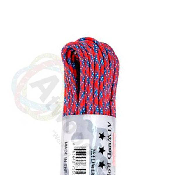 Atwood Rope MFG Atwood Rope MFG 550 Paracord 100ft - Confederate