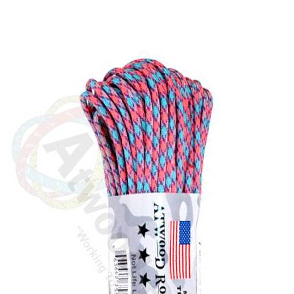 Atwood Rope MFG Atwood Rope MFG 550 Paracord 100ft - Cotton Candy