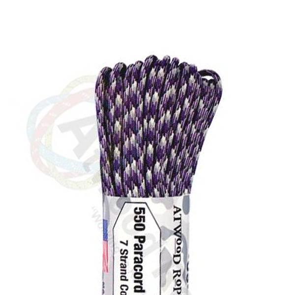 Atwood Rope MFG Atwood Rope MFG 550 Paracord 100ft - Plasma Purple