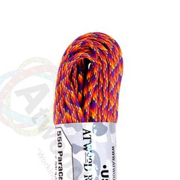Atwood Rope MFG Atwood Rope MFG 550 Paracord 100ft - Carnival