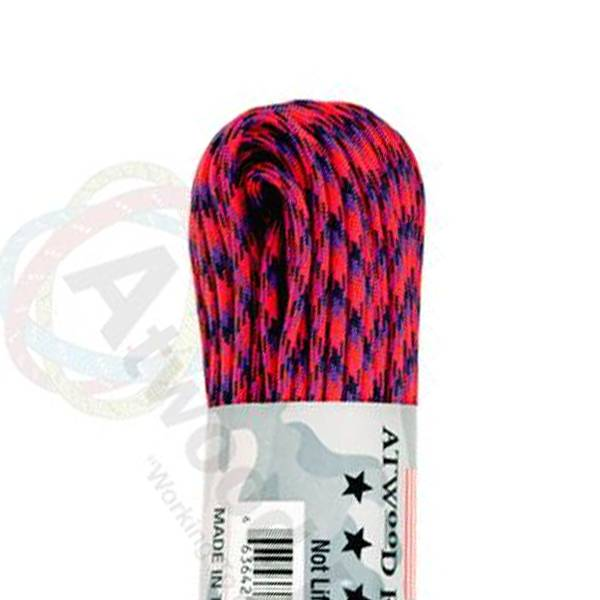Atwood Rope MFG Atwood Rope MFG 550 Paracord 100ft - Candy Snake