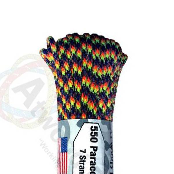 Atwood Rope MFG Atwood Rope MFG 550 Paracord 100ft - Jawbreaker