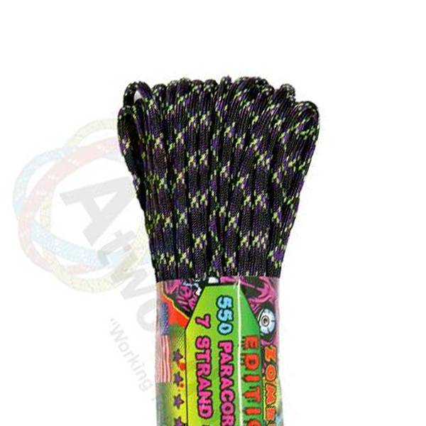 Atwood Rope MFG Atwood Rope MFG 550 Paracord 100ft - Undead