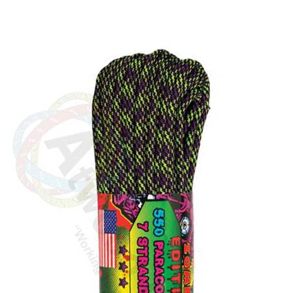 Atwood Rope MFG Atwood Rope MFG 550 Paracord 100ft - Dark Matter