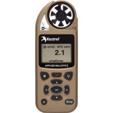 Kestrel Weather Meters Elite Weather Meter with Applied Ballistics with LiNK, Desert Tan