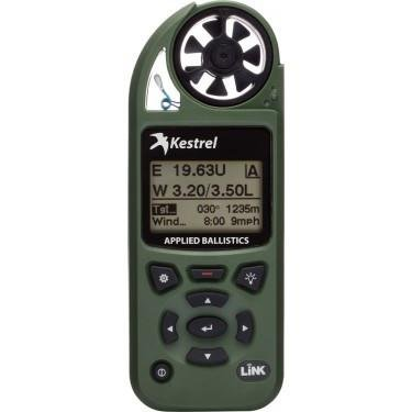 Kestrel Weather Meters Kestrel Elite Weather Meter with Applied Ballistics with LiNK, Olive Drab